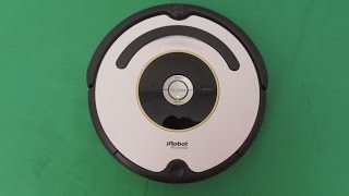 Roomba Irobot 620  vacuum review and demonstration
