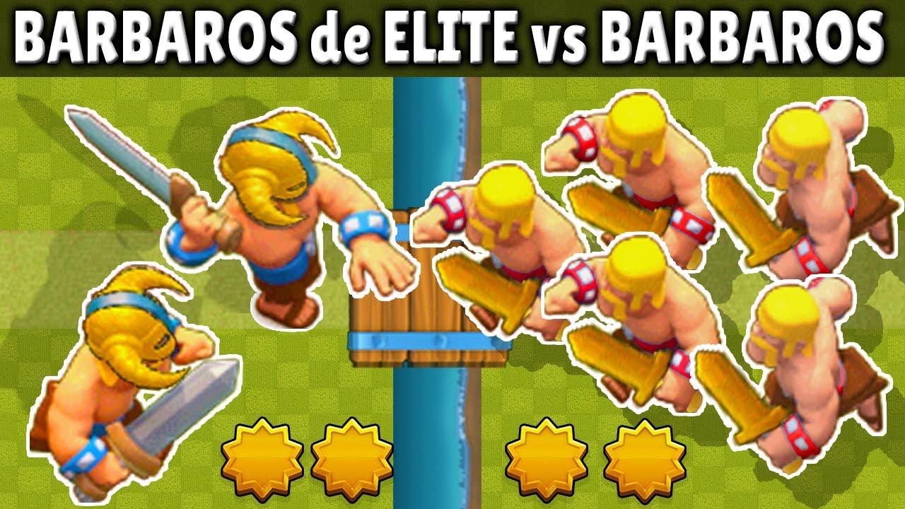 BARBAROS de ELITE vs BRABAROS | 1 vs 1 | OLIMPIADAS ESTELAR | CUAL ES MEJOR? | CLASH ROYALE