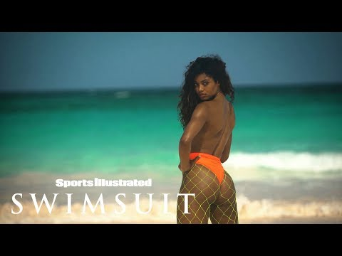 Danielle Herrington Proves She Is a Superstar | CANDIDS | Sports Illustrated Swimsuit