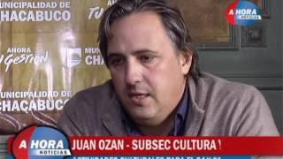 JUAN OZAN   CELINA FELICE   ACTIVIDADES CULTURALES PARA EL 24 Y 25 DE MAYO