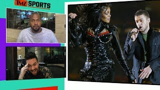 Michael Irvin Says He Would Love To See JT at The Super Bowl But Disses Janet Jackson | TMZ Sports