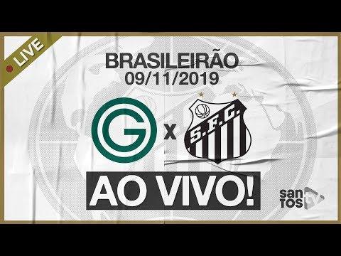 AO VIVO: GOIÁS X SANTOS | NARRAÇÃO | BRASILEIRÃO (09/11/19)
