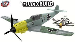 Airfix Quick Build Messerschmitt 109 Construction Kit Toy Review