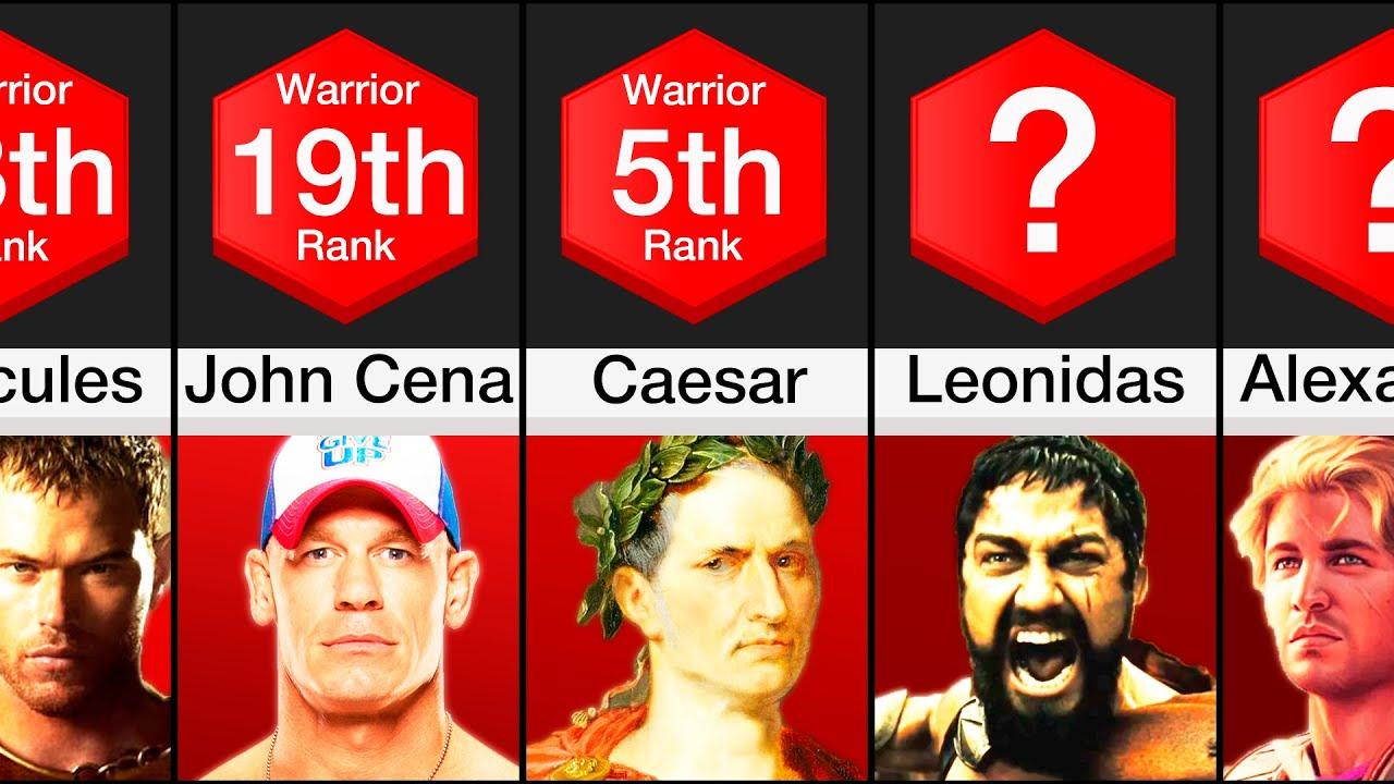 Download Comparison: History's Greatest Warriors