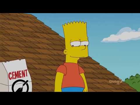 Homer is scared of Bart