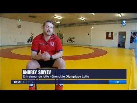 Grenoble Olympique Lutte un reportage sur France 3