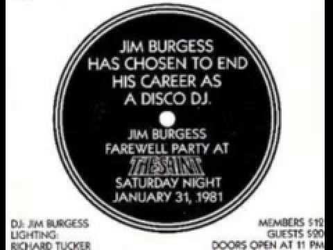 Jim Burgess – Last Party at The Saint 1981 new york part 3