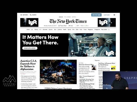 Scott Taylor - Moving the New York Times to GraphQL