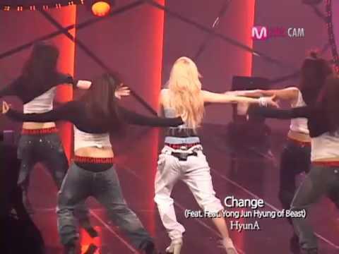 KPOPMnet  M countdown,HyunAChange, CJ E&M