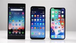 Razer Phone vs. Samsung Galaxy S8 vs. Apple iPhone X: Benchmark | SwagTab