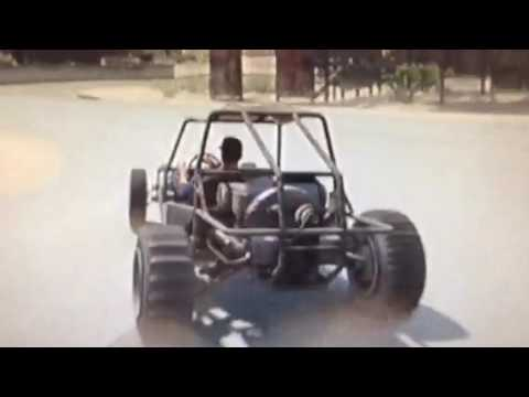 Dune buggy adventures / GTA 5 gameplay clip