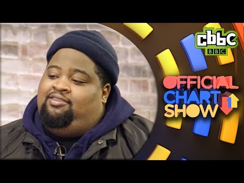 LunchMoney Lewis fan interview on CBBC Official Chart Show