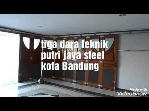 Pintu Besi Untuk Ruko Dan Toko Folding Gate Bandung Pintu