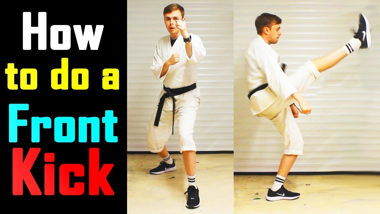Let's Learn Karate with Chris | Episode 05 - Basic Front Kick