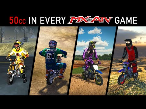 Every 50cc Pit Bike In Every MX Vs ATV Game