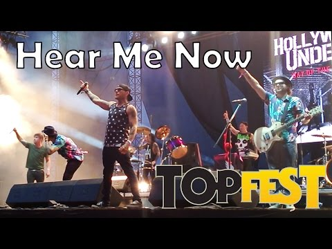 Hollywood Undead - Hear Me Now TOPFEST 2015 SK