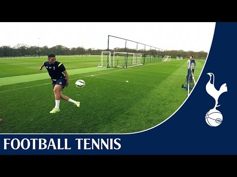 Chadli & Bentaleb vs Townsend & Miles | Spurs Football Tennis
