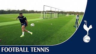 Chadli & Bentaleb vs Townsend & Miles   Spurs Football Tennis