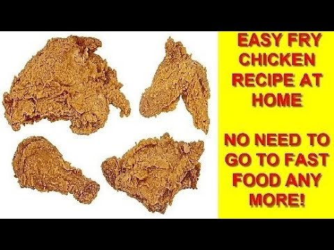 Karachi chicken fry recipe at home forget outside food at kfc karachi chicken fry recipe at home forget outside food at kfc easy chicken fry forumfinder Image collections