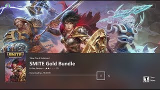 How to Download SMITE Gold Bundle in Xbox FREE
