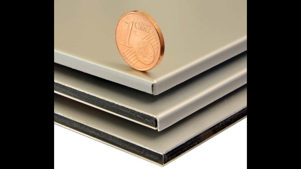 Braze Aluminium Panel : How to process aluminium honeycomb panel edges or mineral