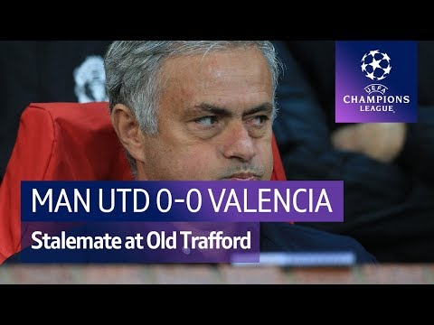 Man Utd vs Valencia (0-0) UEFA Champions League Highlights