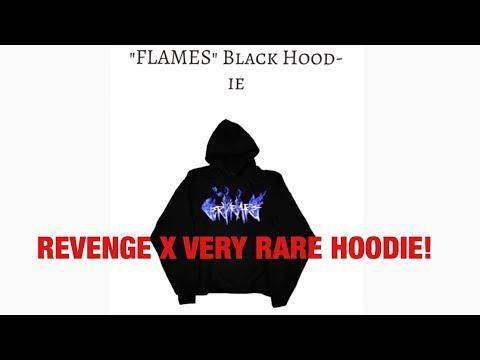 REVENGE FLAMES HOODIE!