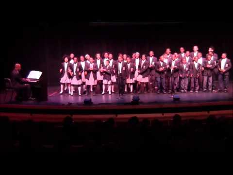 2014 Gala - Choir singing Tomorrow A Better You, Better Me