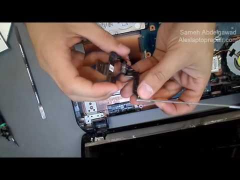 تغير مفصلات اللاب توب المكسورة - repair laptop hinge broken