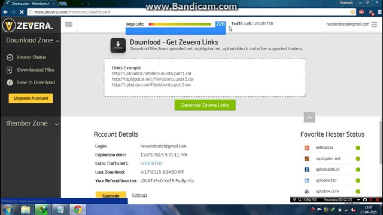 Depfile premium account password - Zevera Premium Account Expires November 2015