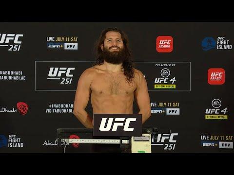 UFC 251: Weigh-in