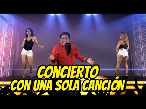 Concierto con una sola canción - Pa que me invitan | JR INN
