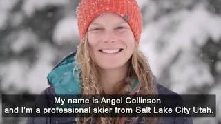 Pro Skier Angel Collinson Endorses Carbon Fee and Dividend