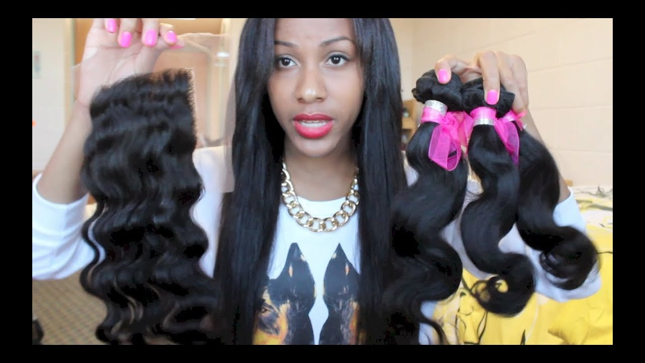 3 Pcs/Lot Vogue Body Wave Indian 7A Remy Human Hair Weave Bundle For Women