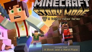 "Minecraft: Story Mode Episode 4 ""A Block and a Hard Place""  All Cutscenes (Game Movie) 1080p HD"