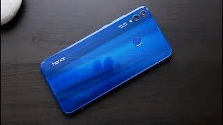 Обзор Honor 8X - большой экран, 18 тыс, NFC