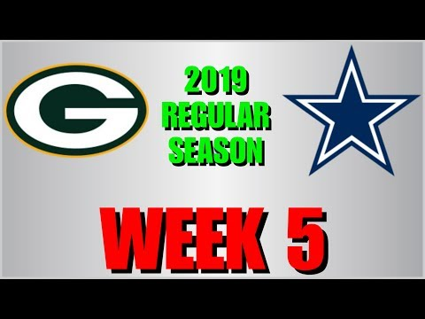 ☆**LIVE STREAM** Reaction ☆ 2019 REGULAR SEASON WEEK 5: Green Bay Packers @ Dallas Cowboys