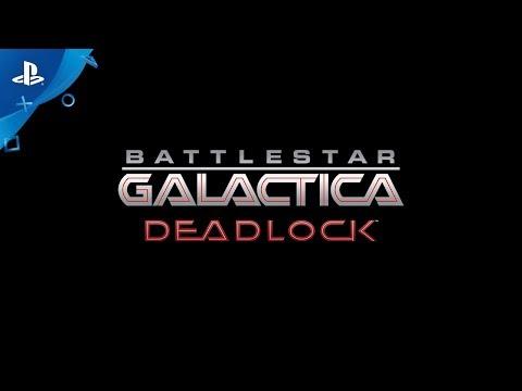 Battlestar Galactica Deadlock - Announcement Trailer | PS4