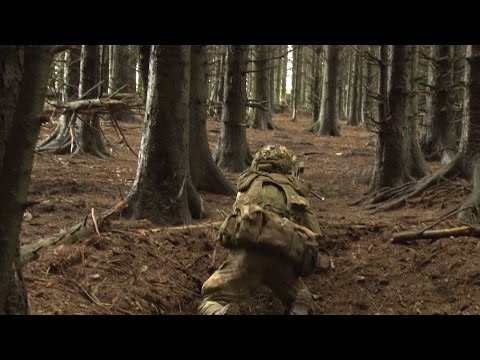 British And Spanish Soldiers Take To The Woods | Forces TV