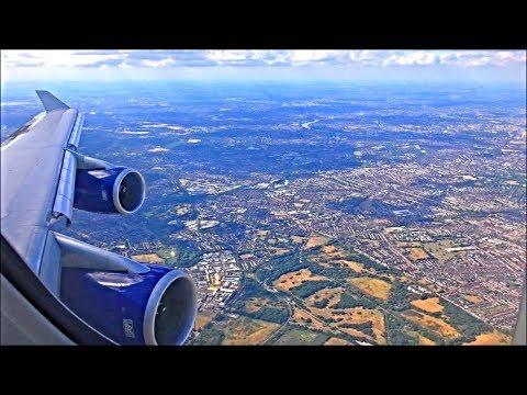 British Airways Boeing 747-436 | Las Vegas To London Heathrow *Full Flight*