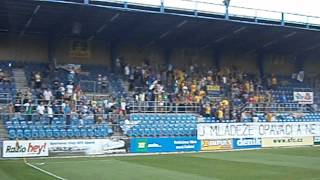 SFC Opava - Most 1:1 4.8.2012 protest