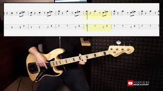 Ben E  King - Stand By Me (bass cover by Harry)