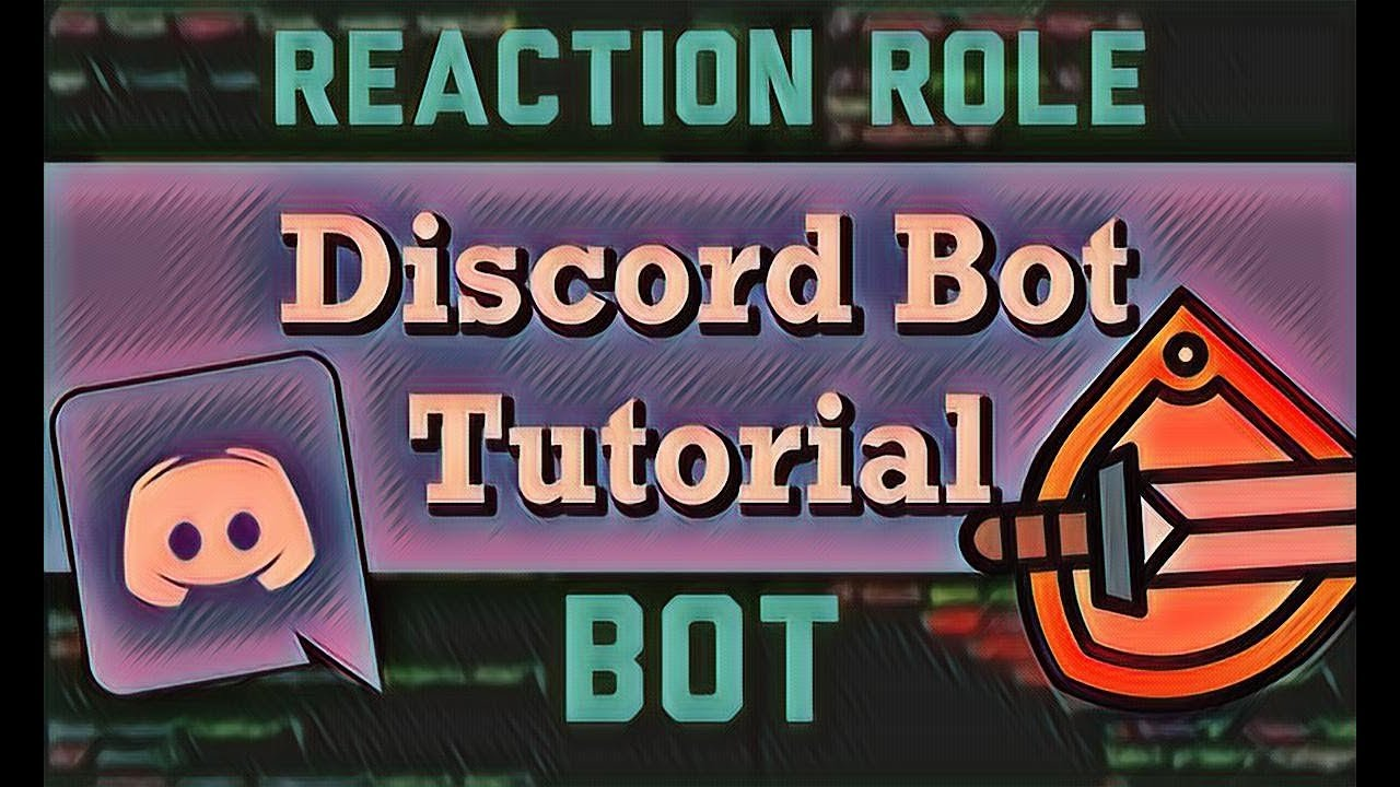 ✅ HOW TO USE THE DISCORD REACTION ROLE BOT! Tutorial 2018
