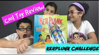 KERPLUNK BOARD GAME!!! HOW TO PLAY KERPLUNK GAME REVIEW (#Challenge)