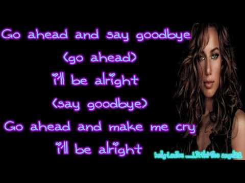Leona Lewis - I Got You (Lyrics) HD/HQ