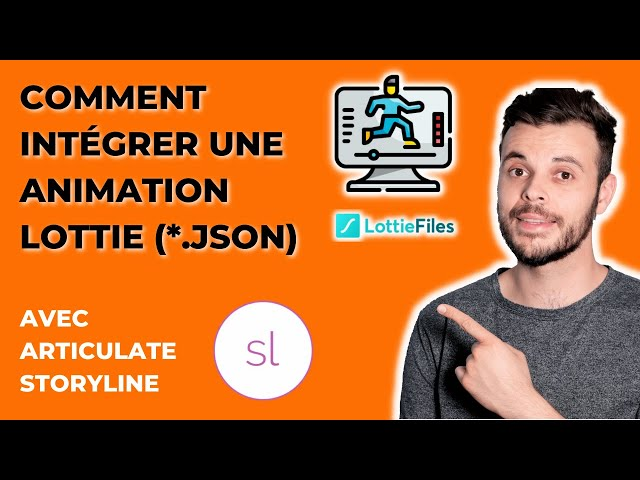 Comment intégrer une animation Lottie (*.JSON) pour vos modules e-learning avec Articulate Storyline
