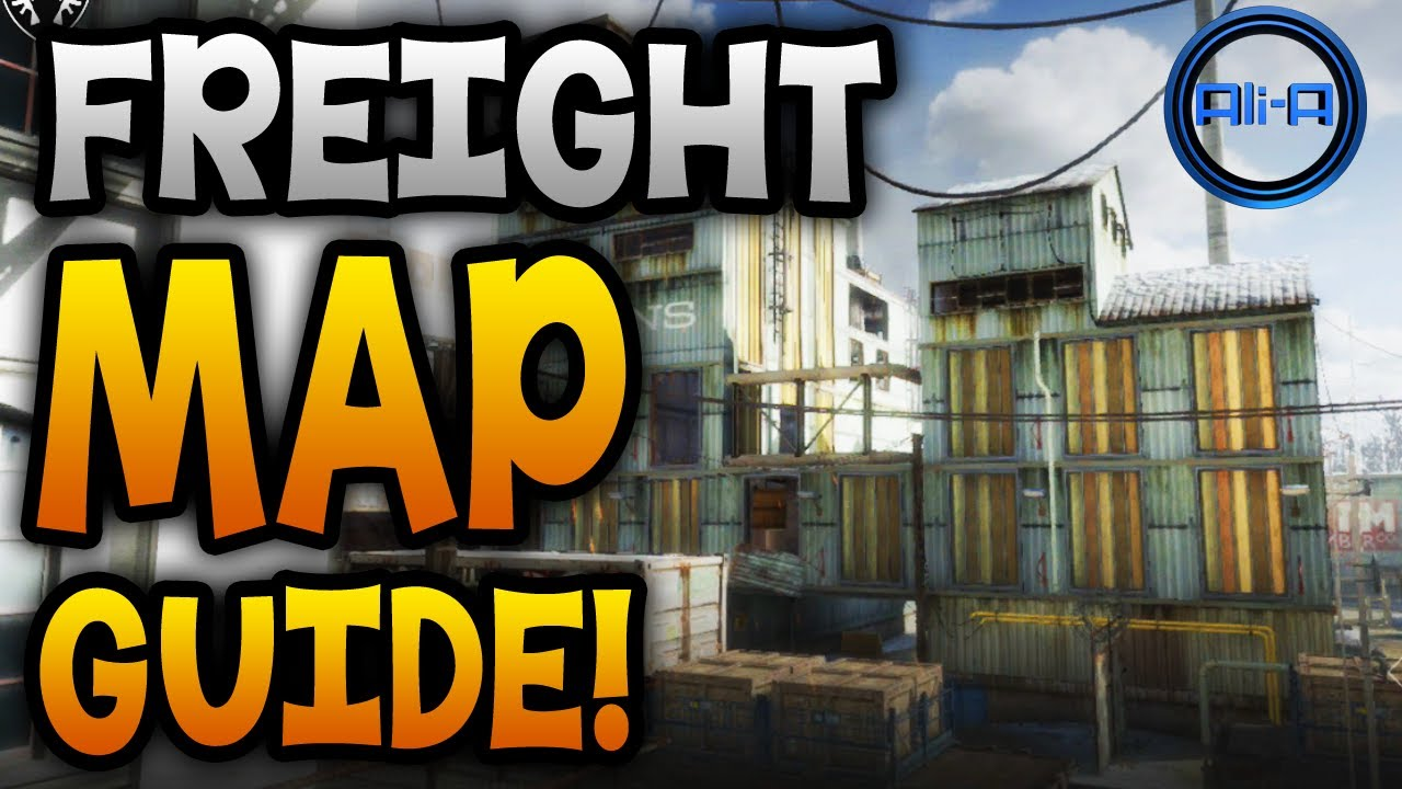 Ghosts Map Guide Freight Locking Doors Best Spots Call