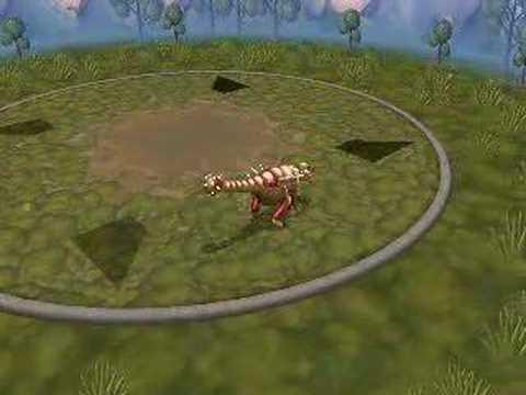 Ankylosaur Spore Creature Creator Video