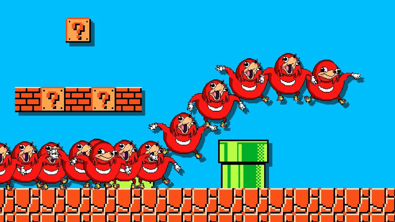 Super Uganda Knuckles Bros