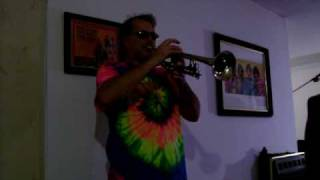 """The Dating Game Song""  on Trumpet  (72' Holton Galaxy trumpet)"
